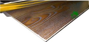 Furniture Used Melamine Fancy Poplar Plywood with Walnut Grain for Decoration pictures & photos
