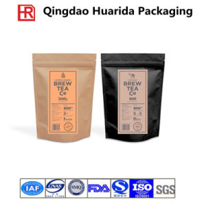 Stand up Plastic Tea Packing with Customer Design pictures & photos