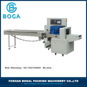High Quality Semi-Automatic Frozen Food Horizontal Packing Machine pictures & photos