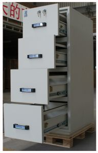 Fire Proof Filing Cabinet, Office Metal Cabinet, Safety Document Storage, Fire Resistant Vertical Cabinets pictures & photos