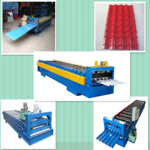 Roofing Sheet Building Material PPGL/PPGI Corrugated Steel Sheet pictures & photos