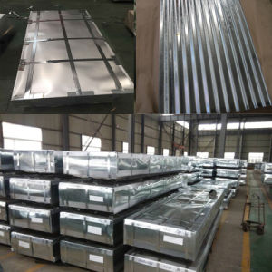 0.13mm-6.0mm Galvanzied Steel Sheet/Galvanized Corrugated Sheet/Roofing Sheet pictures & photos