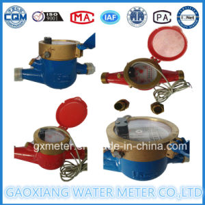 Cold Pulse Reed Switch Transmission Water Meter pictures & photos