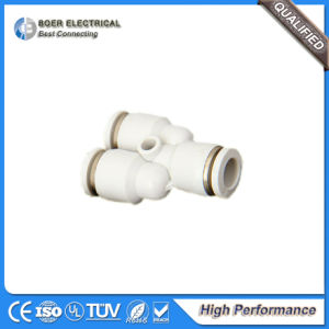 Plastic Air Tube System Fitting Air Quick Pneumatic Connector pictures & photos