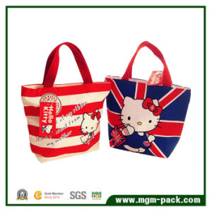 High Quality Fashionable Eco-Friendly Cotton Lady Handbag pictures & photos