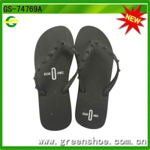 New Men′s Swimming EVA Flip Flop (GS-74769) pictures & photos