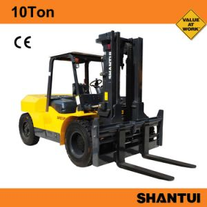Heavy Forklift Price for Sale 10ton pictures & photos