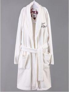 Long Jacquard Coral Fleece Fake Fur Robe Suit Wear pictures & photos