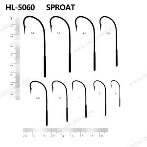 Wholesale Top Quality Sproat Fish Hook pictures & photos