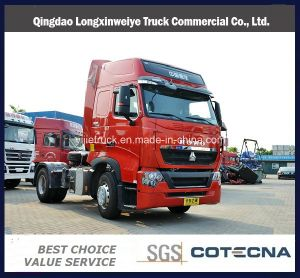 Sinotruk HOWO T7h 480HP 4X2 Tractor Truck with Man Technology pictures & photos