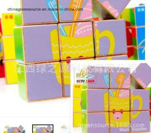 Greensource, Heat Transfer Film for Wooden of Cube pictures & photos