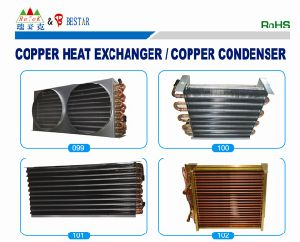 Copper Tube and Aluminum Fin Evaporator pictures & photos