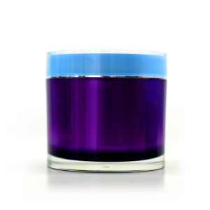100g 200g Double Wall Acrylic Jar Cosmetic Jar pictures & photos
