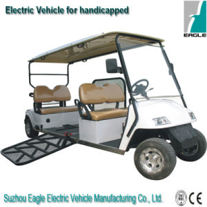 Electric Handicapped Car, with Hydraulic Ramp for Wheelchair pictures & photos