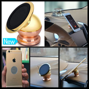 Smartphone Mobile Cell Phone Metal Universal Magnetic Car Mount Kit Sticky Stand Holder pictures & photos