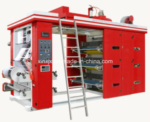 6 Color Flexo Printing Machine for Plastic Film/Non-Woven/PP Wovne Sack/PP Woven Fabric pictures & photos