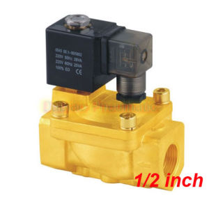 Yuken G1/2′′ Guide Solenoid Valve Brass 2 Way Valves N/C Model PU225-04A