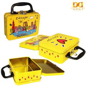 Chicago Yellow Children Lunch Tin Box