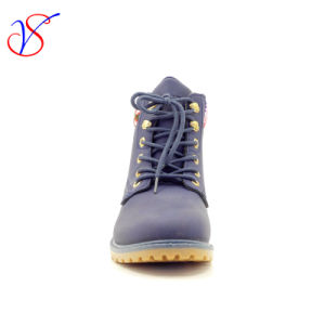 2016 New Style Injection Man Women Work Boots Shoes for Job with Quick Release (SVWK-1609-025 BLUE) pictures & photos
