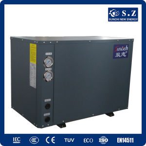 Cold Weather -25c Winter Floor Heating + Dhw 10kw/15kw/20kw Brine Seawater Source Multi Function Heat Pump Water Heaters pictures & photos