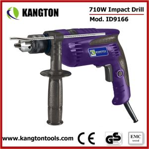 13mm Power Tool Electric Impact Drill 710W pictures & photos