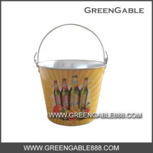 0.28mm Galvanized Metal Ice Bucket (IBG-003) pictures & photos