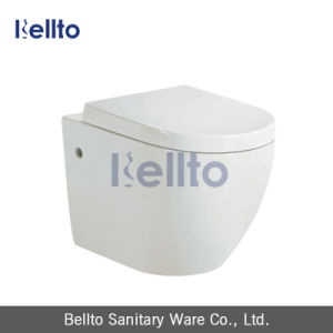 CE Approval Wall Hung Washdown Ceramic Toilet with Concealed Cistern (318W) pictures & photos