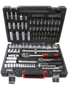 116 Piece 1/2 and 1/4 Drive Socket Set pictures & photos