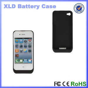 3000mAh External Backup Battery Charger Protect Case Cover for iPhone 4S (OM-PW4Sb) pictures & photos