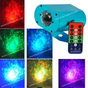 Disco RGB Mini LED Water Wave Effect Light for Christmas Party pictures & photos