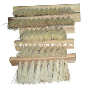 Sisal Hemp Material Woodworking Machinery Polishing Brush (YY-027) pictures & photos