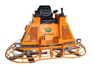 46′′ Hydraulic/Gasoline Construction Ride-on Concrete Road Power Trowel with Joystick Drive and Steering Gyp-1046 pictures & photos