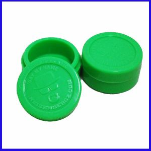 High Quality Customized Small Silicone Jars DAB Wax Container pictures & photos