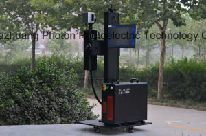20W Ylpf-20A Fiber Laser Marker for PP/PVC/PE/HDPE Plastic Pipe pictures & photos