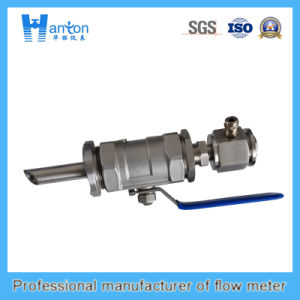 Silver Carbon Steel Fixed Ultrasonic (Flow Meter) Flowmeter pictures & photos