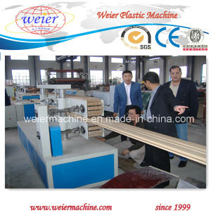 PP PE Wood Plastic WPC Decking Extrusion Machinery pictures & photos