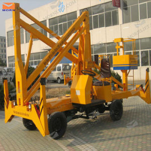 Hydraulic Portable Man Boom Lift for Repairing pictures & photos