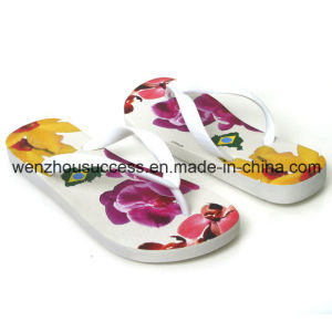 Beach Rubber Custom Design Flip Flops pictures & photos