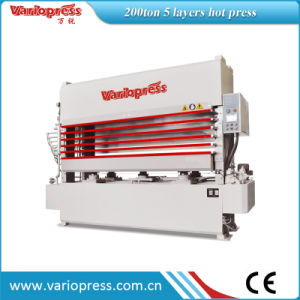 300ton 5 Layers Veneer Hot Press Machine/Woodworking Machinery pictures & photos