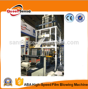 ABA Film Blowing Machine for HDPE LDPE PE Plastic Film pictures & photos