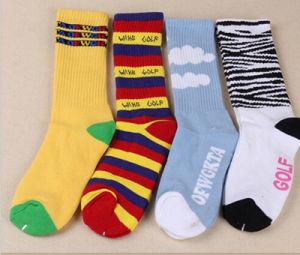 Fashion Cartoon 100% Cotton Pile Loop High Quality Factory OEM Socks