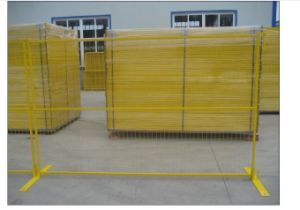 Powder Coating Temporary Fence in Best Quality pictures & photos