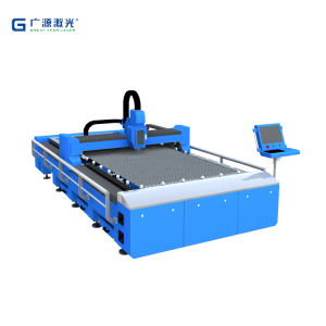 Gyc Supply 1530 Fiber Laser Cutting Machine From Guangzhou pictures & photos