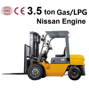 3.5 Ton Gasoline Forklift Truck pictures & photos
