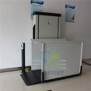2.5m Domestic Elderly People Wheelchair Lift Platform with Ce pictures & photos