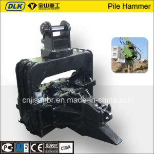 Dlk Hydraulic Vibratory Pile Driver for 24-32 Tons Excavator pictures & photos