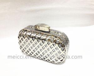 Diamond Mesh Women Clutch Bag, Party Eveningbag pictures & photos