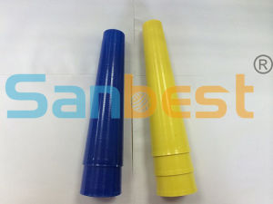Regular 6 Inch Plastic Cones for Spun Polyester Sewing Thread pictures & photos