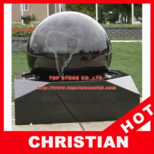 Stone Ball Fountain Rolling Sphere Fountain Globe Fountain pictures & photos