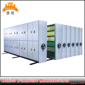 Metal Filing Compactors Steel Movable File Mobile Shelving System pictures & photos